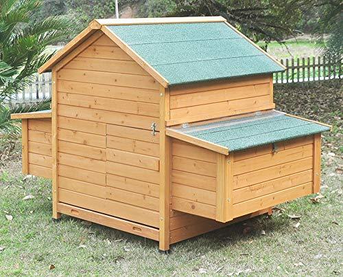 """Hühnerstall Hühnerhaus Chickenhouse Nr. 02 """"Gluckshaus"""" mit legebox und Wanne - 4"""