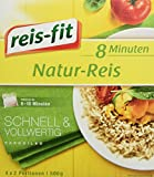 reis-fit Natur-Reis 8-Minuten, 500 g Packung -