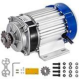 Mophorn Motor de Corriente Continua 60V Motor de CC 750W Motor Eléctrico Sincrónico Motor Trifásico Motor Eléctrico Motor Eléctrico Sincrónico Motor de Imán Permanente Motor DC sin Escobillas
