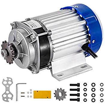 BestEquip Electric Tricycle Motor 750W 60V Brushless Motor 700RPM Gear Reduction 16A Motor Reduction Ratio 6 1 with 12 Tooth Gear for DIY Tricycle E-Bikes Electric Scooters
