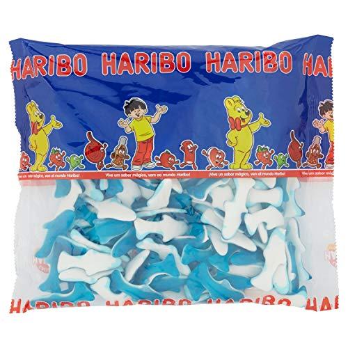 HARIBO Delfini Caramelle Morbide Gommose A Forma Di Delfino 1 Kg Sfuse Irresistibili Per Adulti E Bambini Perfette Per Party Feste E Dolci Momenti Di Relax - 1000 ml