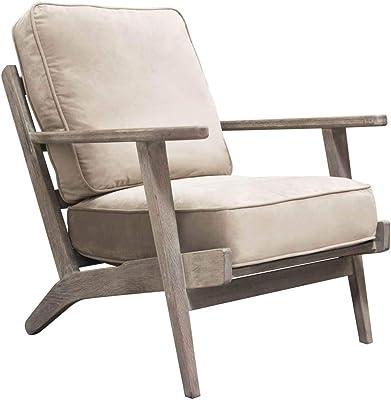 Amazon.com: Acero Gris Sillón la colección Willa sillones ...