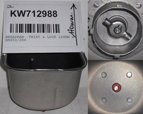 KENWOOD BM250/256 CESTELLO PANE TIPO-1 TWIST&LOCK