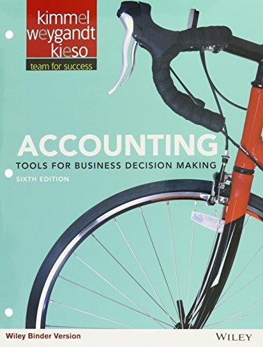 Accounting, 6e Binder Ready Version Amazon Custom