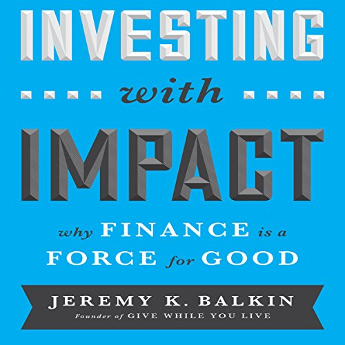 Investing with Impact audiobook cover art