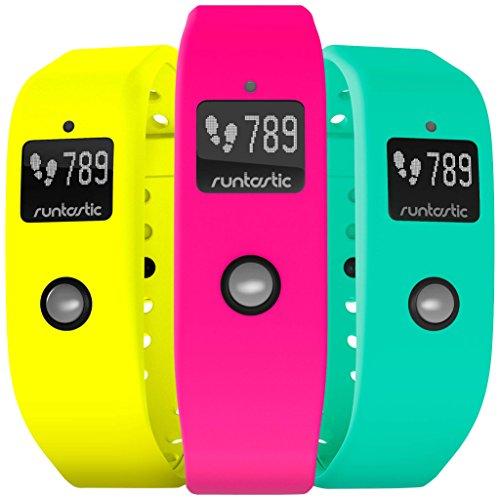 Runtastic Unisex Orbit Armband, 3er Pack,  Neon Pink/Neon Gelb/Neon Grün