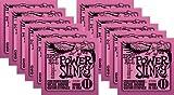 Ernie Ball Power Slinky Custom Gauge Nickel Wound Guitar String - Set .011 - .048 (12 Pack)