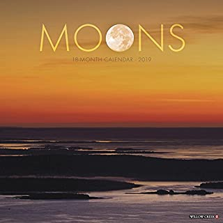 Moons 2019 Wall Calendar