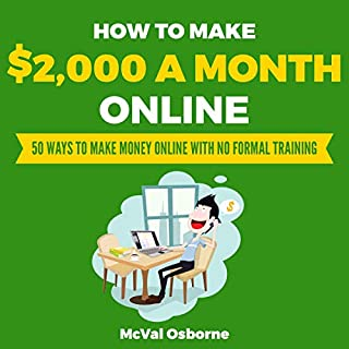 How to Make $2,000 a Month Online cover art
