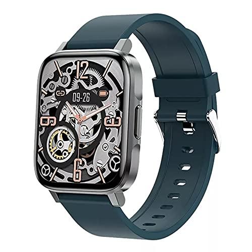 ZGZYL Temperatura De Reloj Inteligente para Hombres F60 / Presión Arterial/Oxígeno/Monitoreo De Frecuencia Cardíaca Actividad Seguimiento De Seguimiento Pedómetro Reloj Deportivo Impermeable,D