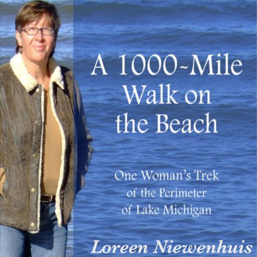 A 1000-Mile Walk on the Beach audiobook cover art