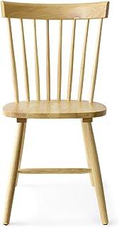 エア・リゾーム ダイニングチェア 木製 おしゃれ 北欧 Windsor Chair〔ウィンザーチェア〕 コムバック型 チェア単体販売 ナチュラル