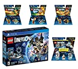 Lego Dimensions Starter Pack + The Legend of Chima Laval + Eris + Cragger Fun Packs + Portal 2 Level Pack for PS4