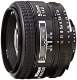 Nikon AF FX NIKKOR 50mm F/1.4D DSLR Lens with Auto Focus for Nikon DSLR Cameras