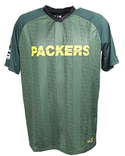 New Era NFL New Era Green bay Packers T Shirt American Football Sommer Green - XL
