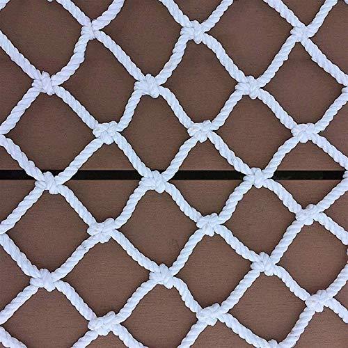 NAKAN Red de Escalera Cerca De Juegos De Patio Red De Poliéster De La Cuerda De Poliéster, Seguridad De La Cuerda Red De Seguridad Protección De La Carga De Las Escaleras del Jardín Red De Decoración