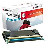 Agfa Photo APTL5242CE - Cartucho de tóner, 7000 páginas, Color Azul