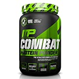 MusclePharm Combat Protein Powder, 5 Protein Blend, Cookies 'N' Cream, 2 Pounds, 26 Servings