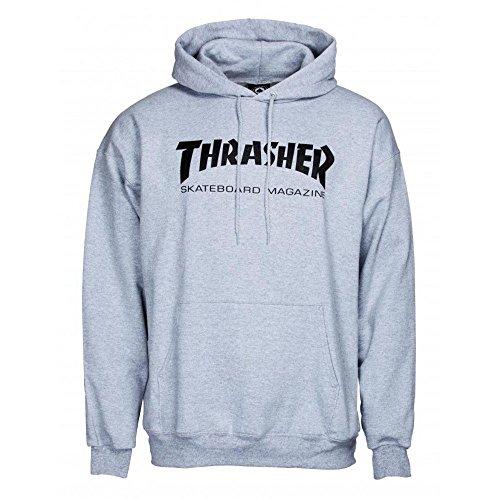 THRASHER Skate mag Hood Sudadera, Unisex Adulto, Gray, S