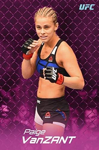 New Paige VanZant UFC Personalized Art Poster Print Custom Wall Decor