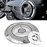 TUINCYN Motorrad Timing Abdeckungen für Harley 1999–2014, Harley Twin Cam Touring Road King Electra Glide FLHR FLHX FXST Dyna