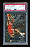 PSA 10 MICHAEL JORDAN 1996-97 FLEER METAL #241 METAL SHREDDERS *GEM MINT* RARE