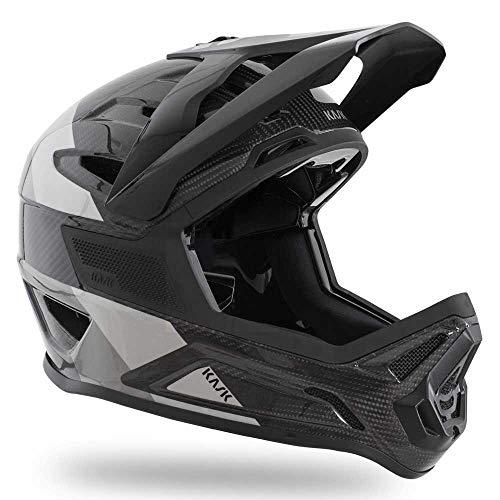 Kask Defender zwart, fietshelm, maat M - kleur zwart