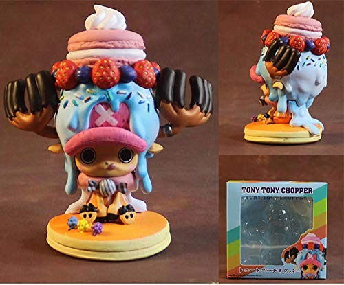 Personajes Animados Figuras One Piece Anime Tony Tony Chopper Figura De Dibujos Animados 11Cm Figurita Decoración Adornos Coleccionables Juguete Animaciones Modelo De Personaje One Piece Anime To