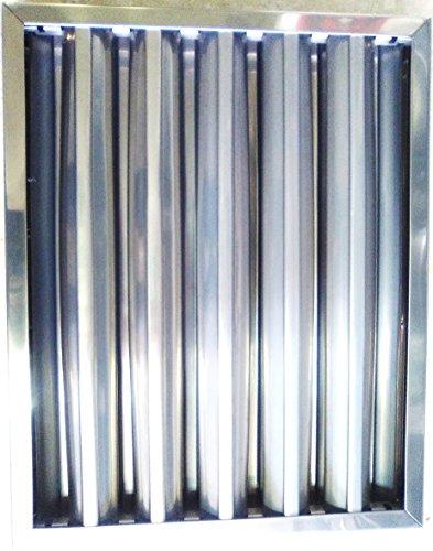 Fagor 95FI89318 Lamellen-Filter für Dunstabzugshaube, 49x 49cm