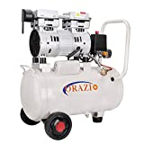 ORAZIO 241184 Low Noise Silent Air Compressor - 24 Liters