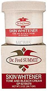 Dr. Fred Summit Skin Whitener 2 oz Palmer Skin Tone And Bleach Cream Beauty New