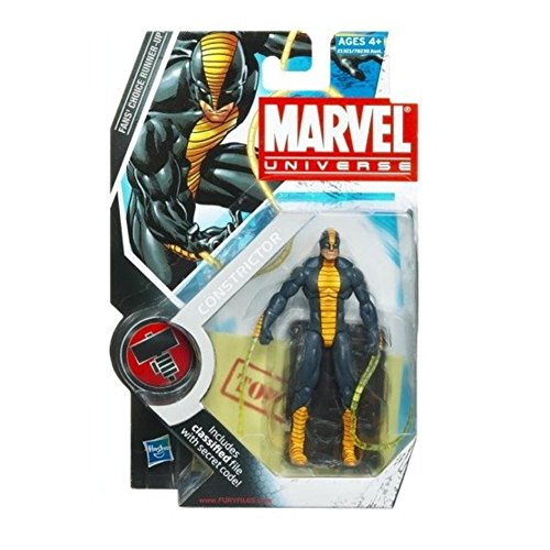 Marvel Universe Series 2 Action Figure #25 Constrictor 3.75 Inch by Marvel