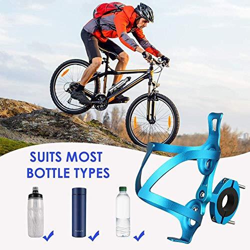 aheadad - Portabidones de bicicleta de aleación de aluminio ajustable para botella de agua, ligero y fuerte soporte para bicicleta, bicicleta de carretera, bicicletas de montaña, bicicletas de niños