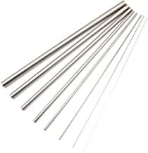 CCTVMTST 8Pcs Stainless Steel 304 Capillary Tube Tubing, Outer Diameter 0.5 to 12 mm, Length 300mm