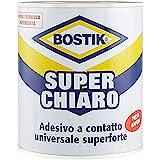 BOSTIK Superchiaro adesivo a contatto universale super forte e super rapido latta 750ml Gi...