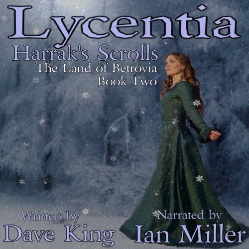 Lycentia, Harrak's Scrolls audiobook cover art
