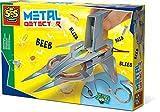 SES Creative Detector de Metales - Kits de ingeniería para niños (8 año(s), CE, 9 V, 432 Pieza(s), 31,6 cm, 21,6 cm)