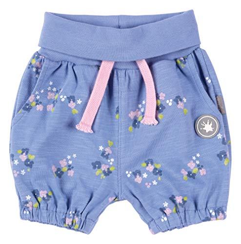 SIGIKID Baby - Mädchen Shorts, kurze Sommerhose aus Bio-Baumwolle mit elastischem Umschlagbund und Eingriffstaschen, Größe 062 - 098