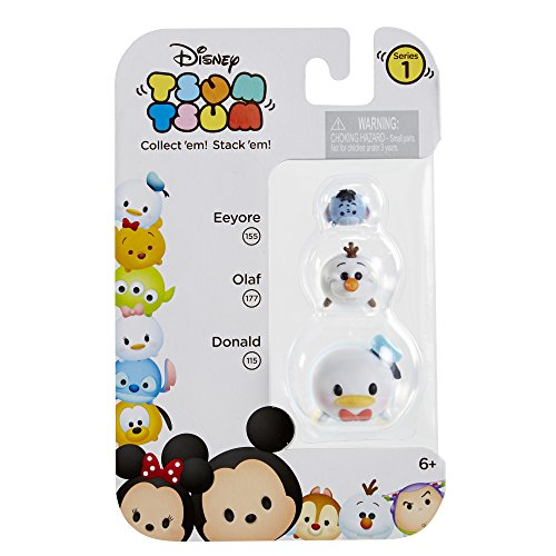 Tsum Tsum 3-Pack Figures: Donald/Olaf/Eeyore