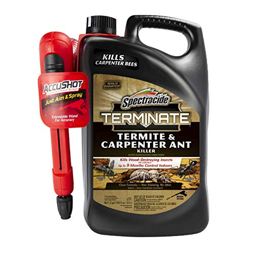 Spectracide HG-96375 Terminate Termite & Carpenter Ant Killer, AccuShot Sprayer, 1.33-gal, 1.33...