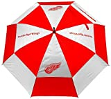 Team Golf NHL Detroit Red Wings 62' Golf Umbrella with Protective Sheath, Double...