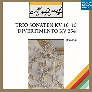 Mozart: Trio Sonatas, K. 10-15 & Divertimento, K. 245