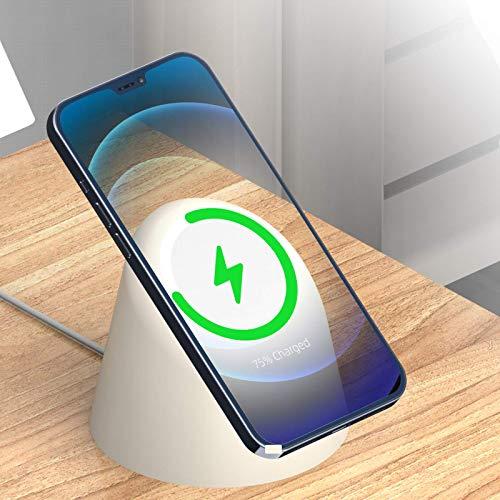 Adecuado para Apple iPhone12ProMax, carga inalámbrica magnética de silicona, soporte MagSafe, soporte para teléfono móvil, soporte para teléfono móvil