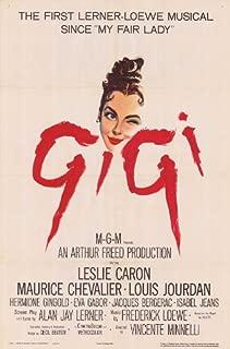 Pop Culture Graphics Gigi 11x17 Movie Poster (1958)