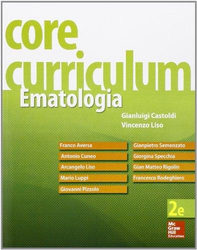 Core Curriculum. Ematologia