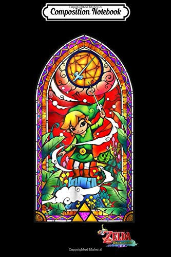 Composition Notebook: Nintendo Zelda Wind Waker Stained Glass Graphic  Journal/Notebook Blank Lined Ruled 6x9 100 Pages