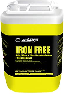 IRON FREE Paint, Wheel And Glass Decontamination Fall Out Remover [NA-IFE640], 5 Gallons