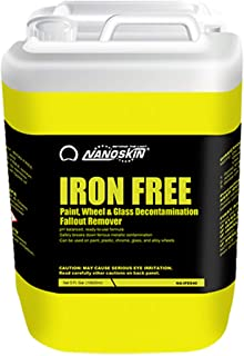 Nanoskin NA-IFE640 IRON FREE Paint, Wheel And Glass Decontamination Fall Out Remover - 5 Gallon, 640. Fluid_Ounces
