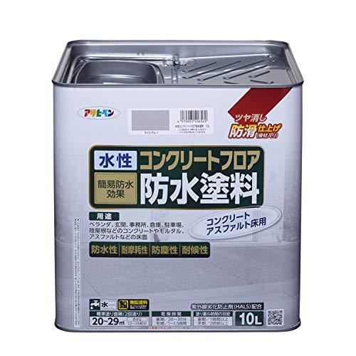 水性コンクリートフロア防水塗料 10L