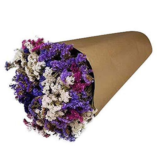 "Kraft Paper Cut Flower Bouquet Sleeves - Measure 18""x 16"" x 5"""